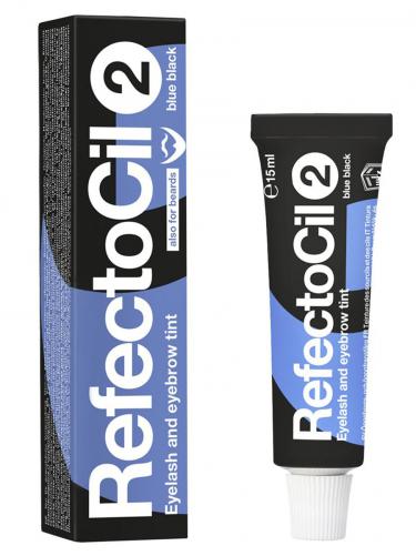 Refectocil | Краска для бровей сине-черная(2), 15 мл